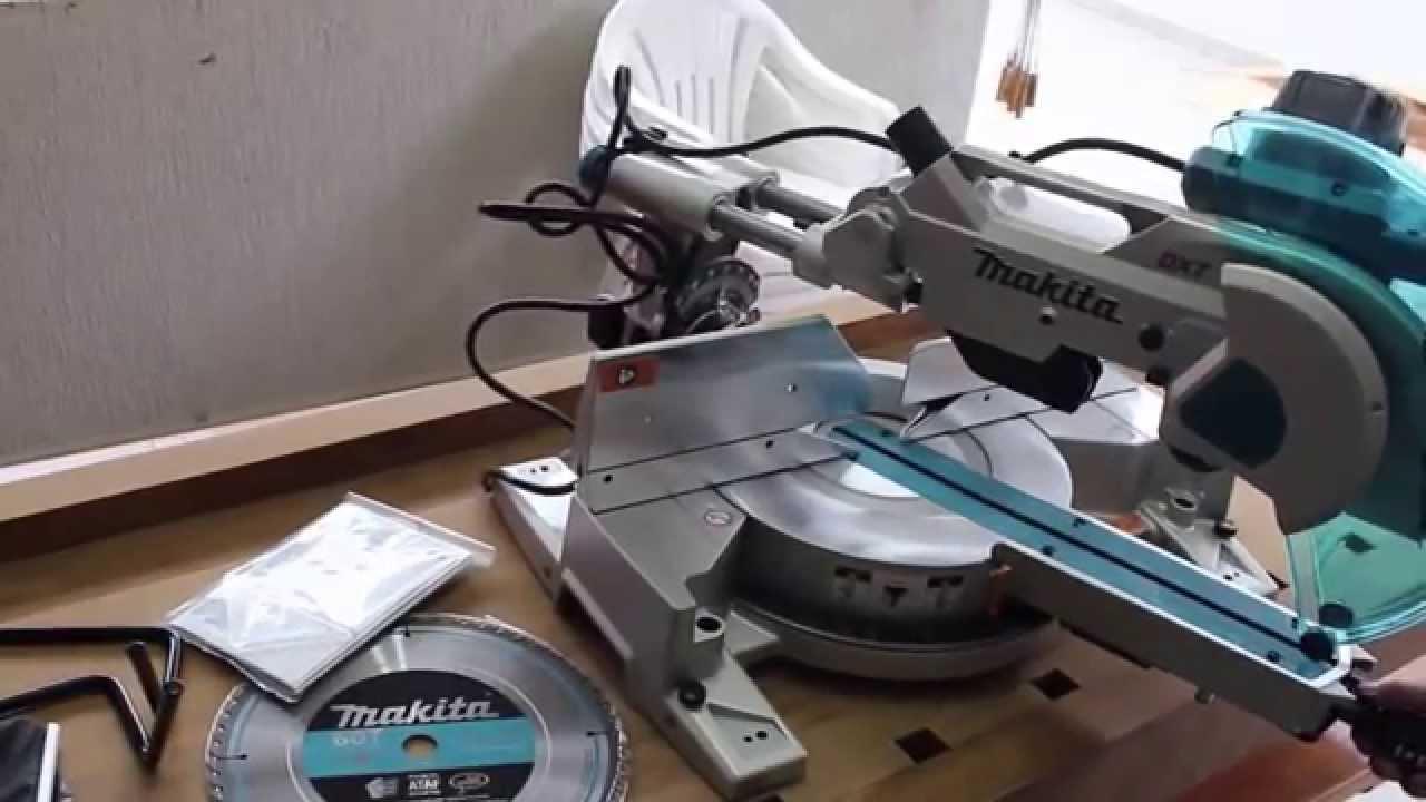 Máy cắt nhôm trượt Makita LS1216 (305mm)