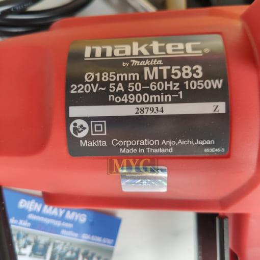 Máy cưa gỗ Maktec MT583 (185mm)