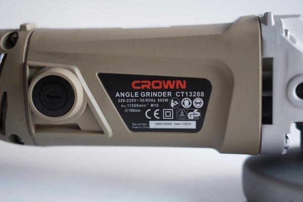 Máy mài góc Crown CT13288-3