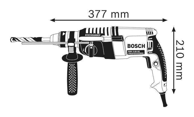 Máy khoan Bosch GBH 2-26RE