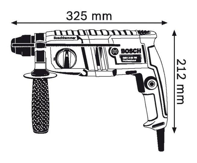 Máy khoan Bosch GBH 2-20RE