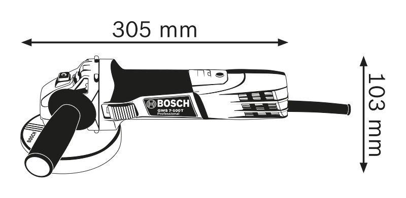 Máy mài GWS 7-100T