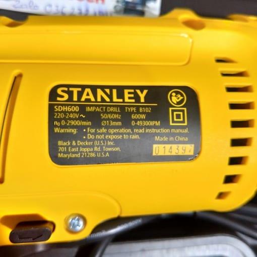 Máy khoan Stanley SDH600K