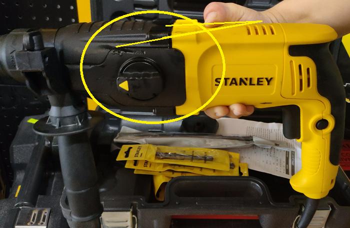 Đánh giá máy khoan búa Stanley SHR263K 26mm 5