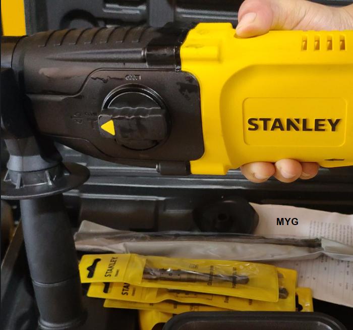 Đánh giá máy khoan búa Stanley SHR263K 26mm 2