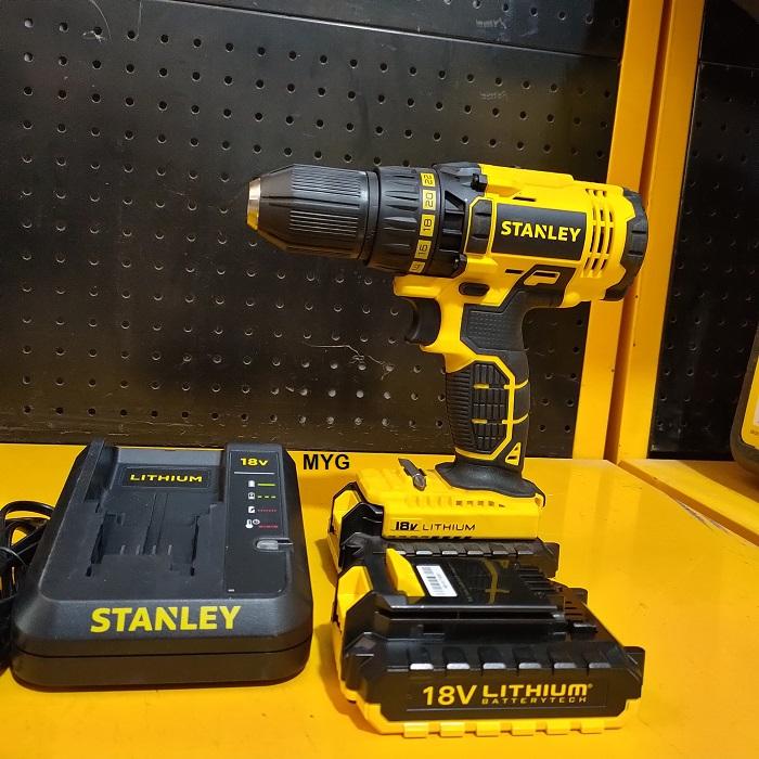 Máy khoan pin Stanley SCD20C2K 18V