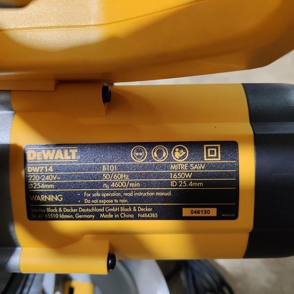 Máy cắt nhôm đa góc Dewalt DW714-B1