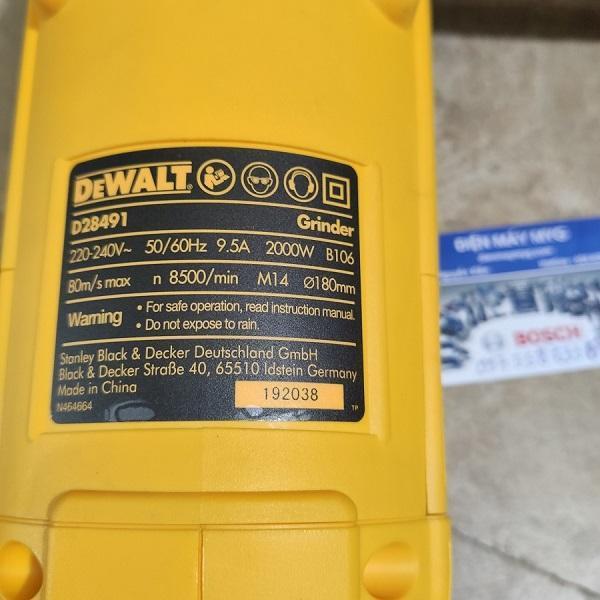 Máy mài cầm tay Dewalt D28491