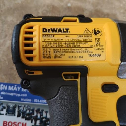 Máy bắn vít pin Dewalt DCF887P2