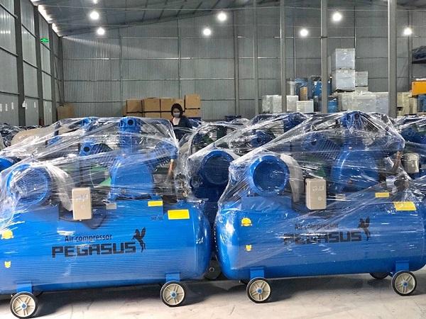 Máy nén khí Pegasus 500L 7.5Hp TM-W-0.67/8-500L