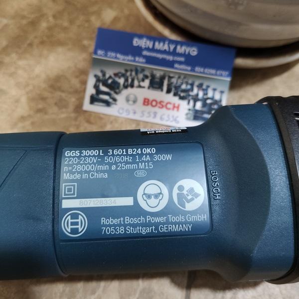 Máy mài khuôn Bosch GGS 3000 L