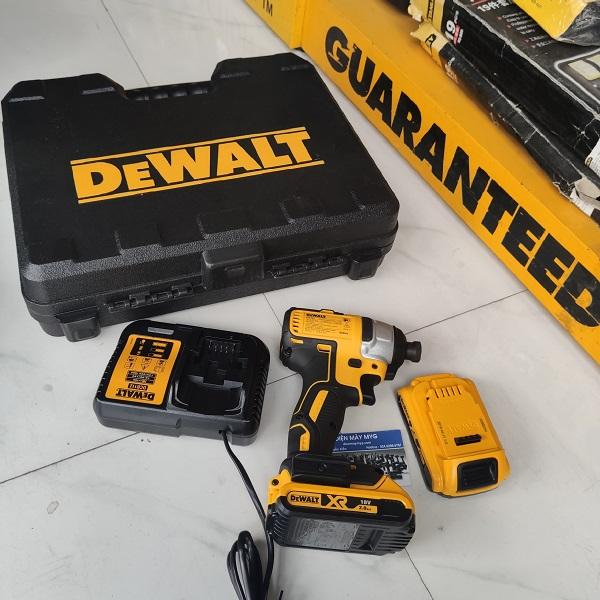 Máy bắn vít pin Dewalt DCF787 D2 18V 2Ah
