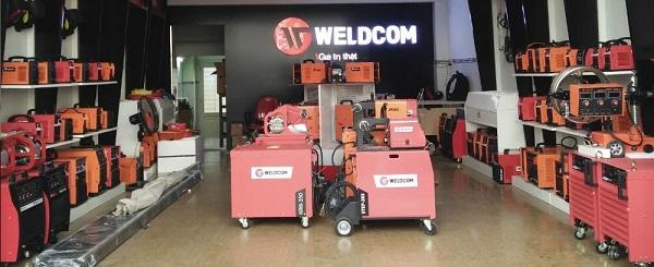 Đại lý máy hàn Weldcom tại Hà Nội